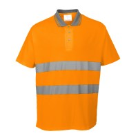Polo confort coton orange PORTWEST